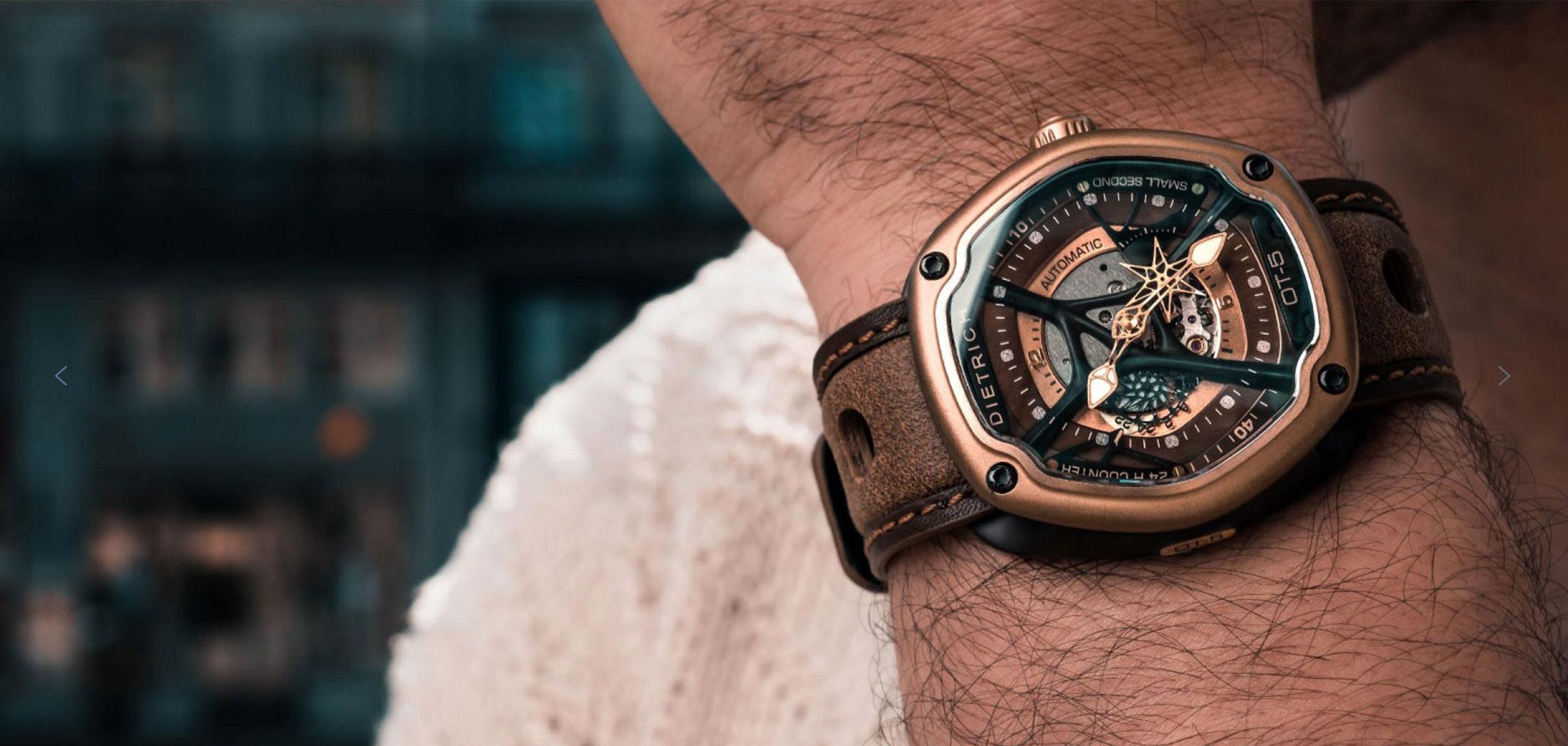 Montre Design : La Dietrich Organic Time, notre coup de coeur.