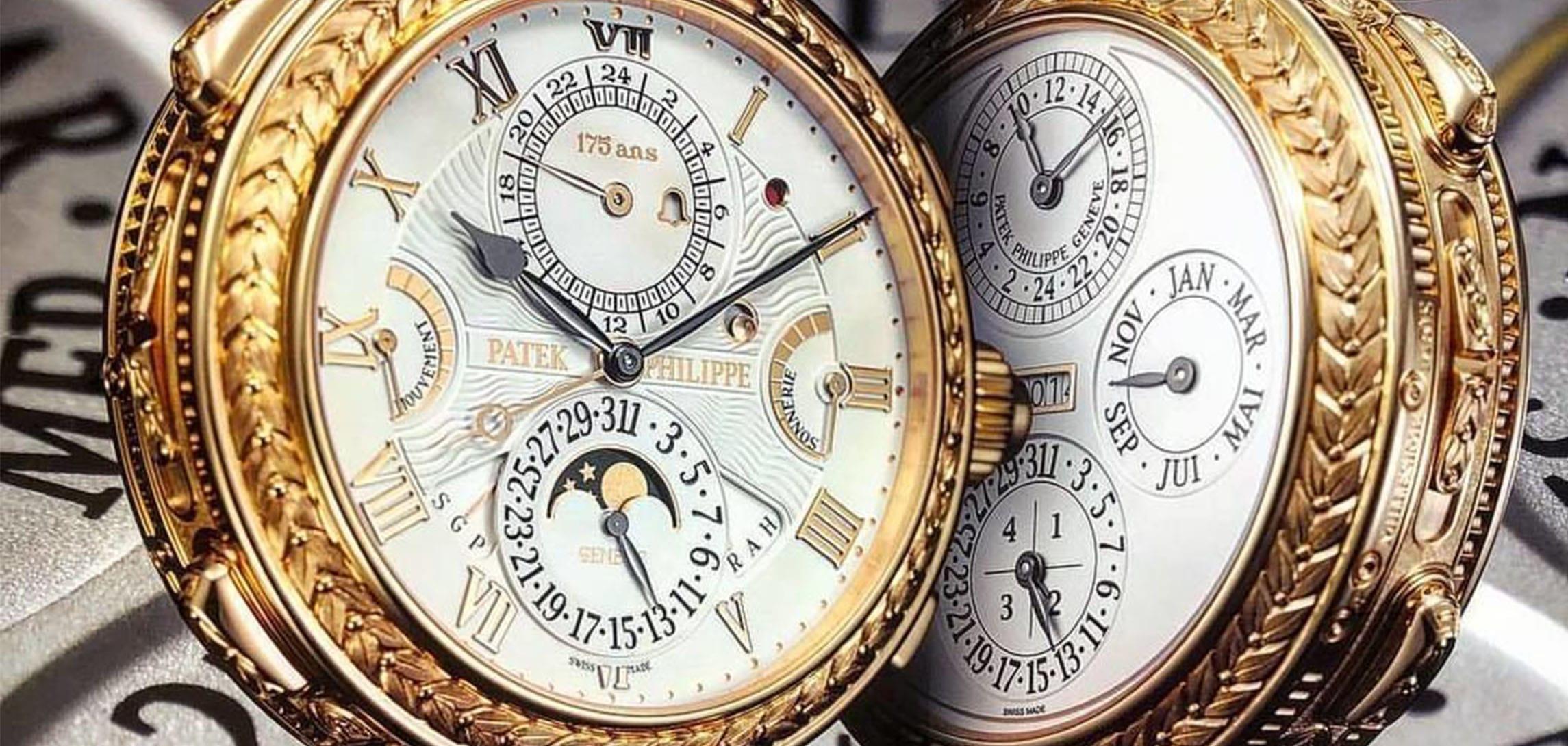 Une véritable oeuvre d'art dans l'horlogerie: La Patek Philippe Grandmaster Chime.