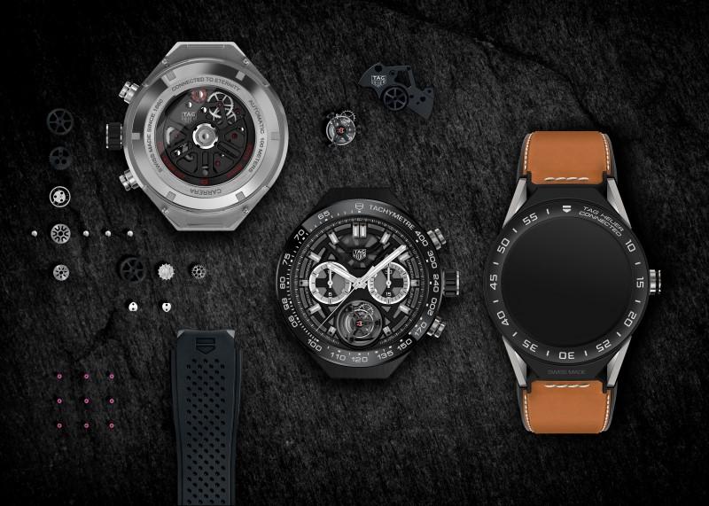 Tag Heuer Modular 45 : La montre connectée haut de gamme !