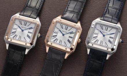 Cartier Santos Dumont XL : La Montre CLASSIQUE DE Cartier avec Remontage Manuel