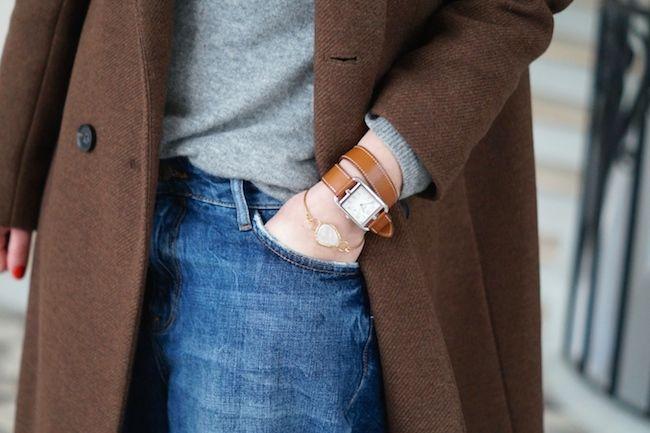 bracelet hermes cuir