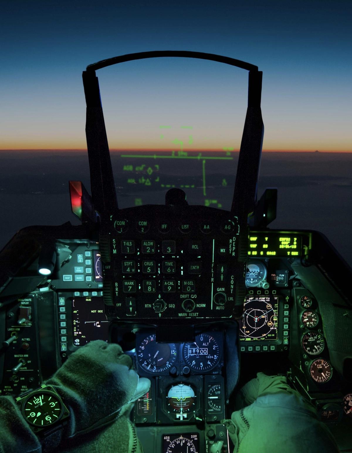 HUD avion de chasse