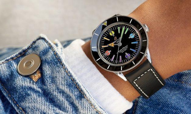 Breitling Superocean Héritage 57 : La montre de plongée Vintage multicolores et on adore
