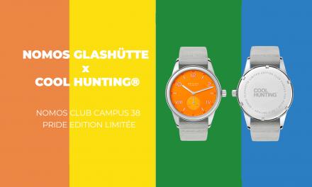 La nouvelle collaboration entre NOMOS Glashütte & COOL HUNTING® : La Nomos Club Campus 38 Pride edition limitée