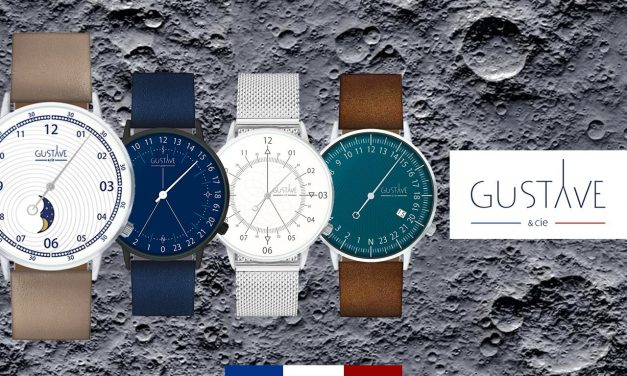 Gustave & Cie : Les montres made in france qui nous font décoller to the moon !